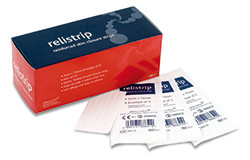 Buy Skin Closure Strips, 6mm x 75mm x 3, Pack of 50 envelopes (REL652) sold by eSuppliesMedical.co.uk