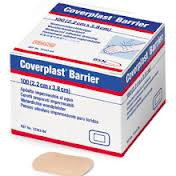 Buy Coverplast Barrier Plasters, 2.2cm x 3.8cm, Box of 100 (3455W) sold by eSuppliesMedical.co.uk