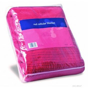 Buy Cellular Blanket in Red (REL762) sold by eSuppliesMedical.co.uk
