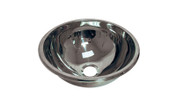 Buy HTM64 Deck Mounted Hemispherical Inset Bowl in Stainless Steel (Sun-SNK28) sold by eSuppliesMedical.co.uk