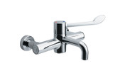 Buy Thermostatic Wall Mounted Sequential Mixer (160mm projection) 200mm centres, HTM64, Single Elbow Lever (Sun-TAP17) sold by eSuppliesMedical.co.uk