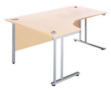Buy J Desk, Left Hand, 1400mm wide (Sun-DESK5/140) sold by eSuppliesMedical.co.uk
