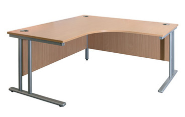 Buy Symetrical Crescent Top, 1600mm (SUN-DESK9/160) sold by eSuppliesMedical.co.uk