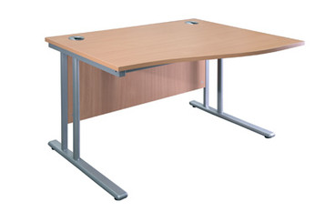 Buy Wave Desk, 1600mm wide, right hand (SUN-DESK8/160) sold by eSuppliesMedical.co.uk