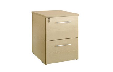 Buy Desk Height Pedestal, 800mm deep, 2 drawer (Sun-HPED8) sold by eSuppliesMedical.co.uk