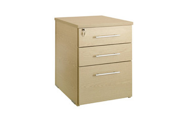 Buy Desk Height Pedestal, 800mm deep, 3 drawer (Sun-HPED9) sold by eSuppliesMedical.co.uk