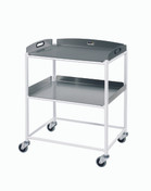 Dressing Trolley  2 Stainless Steel Trays