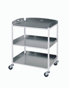 Dressing Trolley  3 Stainless Steel Trays