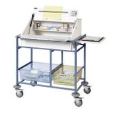 Buy Medium Ward Drug Trolley, 2 plastic storage trays, Divider system (SUN-WDT20) sold by eSuppliesMedical.co.uk