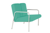 Easy-Chair, 2 seater, Arms, Intevene, 430mm Seat Height