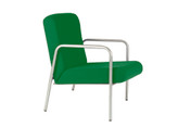 Easy-Chair, With Arms, Vinyl. 430mm seat height