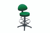 Buy Gas-lift Stool with Back-Rest, Foot Ring and Glides (Sun-ST05) sold by eSuppliesMedical.co.uk
