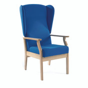 Atlas Patient High-Back Arm Chair with Wings, Intevene (Multibuy)