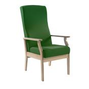 Atlas Patient High-Back Arm Chair, Vinyl (Multibuy)