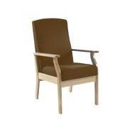 Atlas Patient Mid-Back Arm Chair, Vinyl (Multibuy)