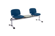 Venus Visitor 3 Seat Module, 2 Plastic Seats & 1 Table - 4 Colours