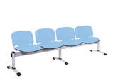 Buy Venus Visitor 4 Seat Module, 4 Plastic Seats - 4 Colours (Sun-SEAT4/COLOUR) sold by eSuppliesMedical.co.uk