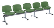 Venus Visitor 5 Seat Module, 5 Seats, Intevene Anti-bacterial Upholstery - 12 Colours