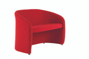 Buy Sofa, 2 Seater, Open Fronted on Glides, Intevene (Sun-TUB20IV/COLOUR) sold by eSuppliesMedical.co.uk