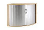Buy 90 degree Desk Height Tambour, 800mmx800mm (Sun-TAMBOUR7) sold by eSuppliesMedical.co.uk