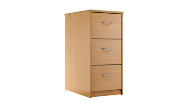 Buy Filing cabinet, 1048mm high, 3 drawers (Sun-FCAB3) sold by eSuppliesMedical.co.uk