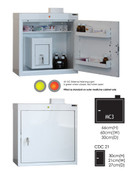 Buy MC3 Outer Medicine Cabinet 66cm(H) x 60cm(W) x 30cm(D) CDC21 Inner Cabinet 30cm(H) x 21cm(W) x 27cm(D) (SUN-MCDC321) sold by eSuppliesMedical.co.uk