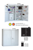 Buy MC8 Outer Medicine Cabinet 91cm(H) x 80cm(W) x 30cm(D) CDC21 Inner Cabinet 30cm(H) x 21cm(W) x 27cm(D) (SUN-MCDC821) sold by eSuppliesMedical.co.uk
