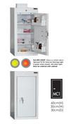 Buy Medicine Cabinet - 3 Shelves & 2 Door Trays, 1 Door - 60cm(H) x 30cm(W) x 30cm(D) - No Light (SUN-MC1/NL) sold by eSuppliesMedical.co.uk