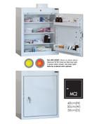 Buy Medicine Cabinet - 3 Shelves & 2 Door Trays, 1 Door - 60cm(H) x 50cm(W) x 30cm(D) - No Light (SUN-MC2/NL) sold by eSuppliesMedical.co.uk