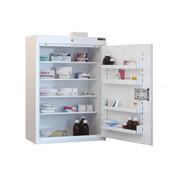 Buy Medicine Cabinet - 4 Shelves & 4 Door Trays, 1 Door - 85cm(H) x 60cm(W) x 30cm(D) - No Light (SUN-MC7/NL) sold by eSuppliesMedical.co.uk