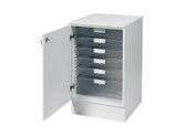 Buy 51.5cm wide base unit with top, 4 single / 1 double depth clear trays (SUN-VBUT1W) sold by eSuppliesMedical.co.uk