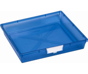 Buy Single Depth Tray  Blue (each) (Sun-SMT1B) sold by eSuppliesMedical.co.uk