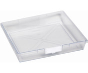 Buy Single Depth Tray  Clear (each) (Sun-SMT1C) sold by eSuppliesMedical.co.uk