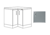 Buy L Shaped Corner Base Unit, Titanium Finish (Sun-BU7T) sold by eSuppliesMedical.co.uk
