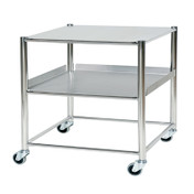 Buy Surgical Trolley  1 Stainless Steel Shelf & 1 Stainless Steel Tray (Sun-ST8S2SF) sold by eSuppliesMedical.co.uk