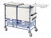 Buy Medical Notes Trolley, Large, Enclosed Sides, Locking top (SUN-MNT20) sold by eSuppliesMedical.co.uk