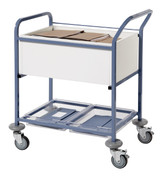 Buy Medical Records Transfer Trolley, Without Locking Lid (SUN-MRTT1) sold by eSuppliesMedical.co.uk