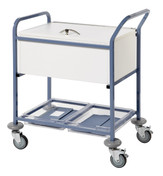 Buy Medical Records Transfer Trolley,With Locking Lid (SUN-MRTTL1) sold by eSuppliesMedical.co.uk