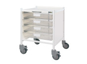 Buy VISTA 15 Trolley - 4 Single Depth Clear Trays (Sun-MPT51C) sold by eSuppliesMedical.co.uk