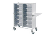 Buy Vista 240 Trolley  12 double depth clear trays (SUN-MPT242C) sold by eSuppliesMedical.co.uk