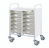 Buy VISTA 60 Trolley - 12 Single Depth Clear Trays (Sun-MPT60C) sold by eSuppliesMedical.co.uk