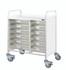 Buy VISTA 80 Trolley - 12 Single Depth Clear Trays (Sun-MPT14C) sold by eSuppliesMedical.co.uk