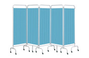 Buy Replacement Pastel Blue Curtain for 5 section screen (Sun-CUR5/DCPB) sold by eSuppliesMedical.co.uk