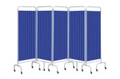 Buy Replacement Summer Blue Curtain for 5 section screen (Sun-CUR5/DCSB) sold by eSuppliesMedical.co.uk
