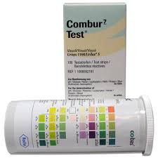 Buy Combur 7 Test Strips, Pack of 100 (11008552191) sold by eSuppliesMedical.co.uk