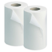 "Buy Wiper Rolls, 2 Ply, 10"" 50m, White, 18 rolls (PCR24W) sold by eSuppliesMedical.co.uk"