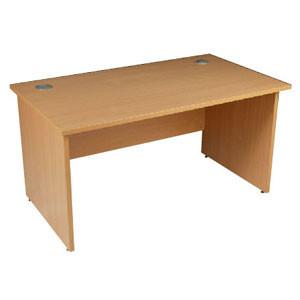 Buy OT Panel End Rectangular Desk 1400 Oak (W9403O) sold by eSuppliesMedical.co.uk