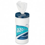 Buy Azowipe Disinfectant Wipes, 200mm x 220mm, Tub of 200 (81103) sold by eSuppliesMedical.co.uk