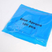 Buy HealthGard PE Aprons, Blue, 80G, Pack of 100 (PSCR974B) sold by eSuppliesMedical.co.uk