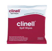 Clinell Spill Wipes Pack, Each